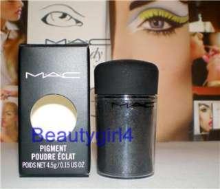 MAC Cosmetics Pigment Eye Shadow Pigments DARK SOUL nib