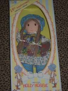 HOLLY HOBBIE DOLL 25TH ANNIVERSARY COLLECTORS EDITION