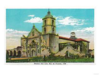Mission San Luis, Rey de Francia   Oceanside, CA Prints at AllPosters
