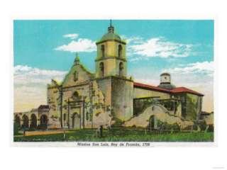 Mission San Luis, Rey de Francia   Oceanside, CA Prints at AllPosters