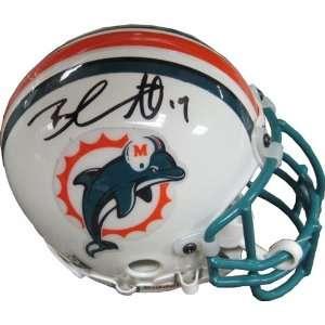 Brandon Marshall Autographed/Signed Mini Helmet Sports