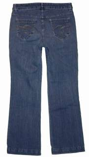sz 6 30 Inseam Womens Blue Jeans Denim Pants Stretch FO6