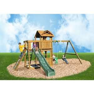 Playtime Swing Sets Cambridge Swing Set Outdoor Play