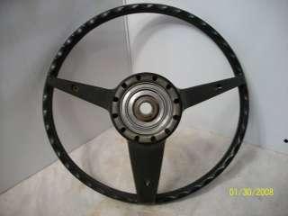 Mustang Cougar Torino Boss 302 Mach 1 Deluxe Rimblow Steering Wheel