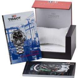 Couturier Black Chronograph Dial Black Strap Watch