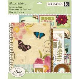 K&Company Flora and Fauna Field Journal Kit: Arts, Crafts