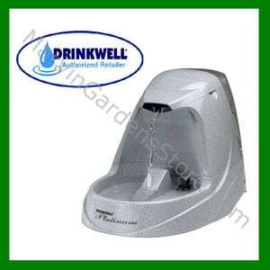 SALE DRINKWELL PLATINUM PET FOUNTAIN DOG & CAT WATERER