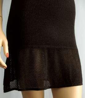 Zac Posen for Target Black Pointelle Knit Dress XS