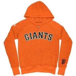 San Francisco Giants Girls (7 16) Orange Full Count Full Zip Hooded