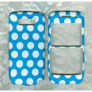 blue w nokia e71 e71x Straight Talk phone cover case: Cell
