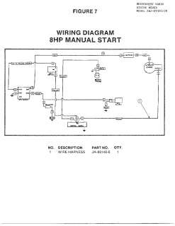 Homelite Riding Mower Wire Diagram 8hp Manual S Parts Model