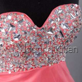 Sexy Cute Girls Prom Dress Bridal Wedding Gown Evening Party