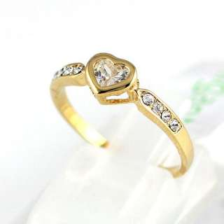 18k Yellow Gold Plated Wedding Ring  89156
