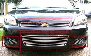 Impala SS LT Front Grill Aluminum Billet Grille Combo Insert Grills
