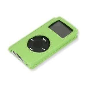 DSI iPod Nano Leather Case, Green  Players & Accessories