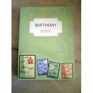 12 Birthday Cards W/Scripture (Celebrating You!): Health