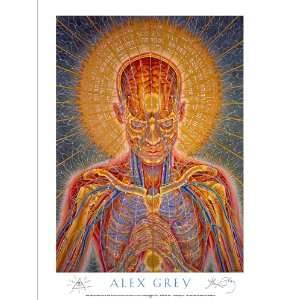 Praying Poster Signed By Alex Grey: Everything Else