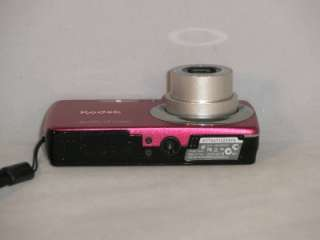 14.0 MP 4X WIDE OPTICAL ZOOM DIGITAL CAMERA   RED 41771689865