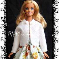 Holiday Coat & Dress Outfits Set for Barbie Dolls #F12