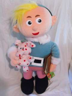 RUDOLPH MISFIT TOYS HERBIE DENTIST HUGE 20 DOLL PLUSH