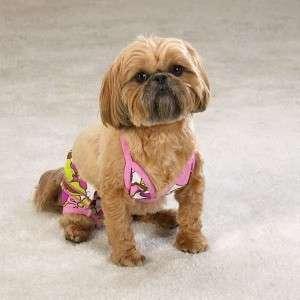 Casual Canine Maui Flowers Bikinis for Dogs