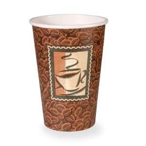 16 oz Hot Paper Cup in Brown