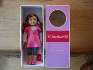 AMERICAN GIRL Doll JUST LIKE YOU Doll Brown Hair Blue Eyes Freckles