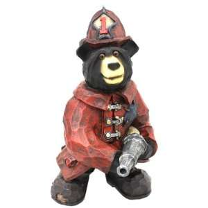Collection Hand Finished FIREMAN Resin Statue Figurine