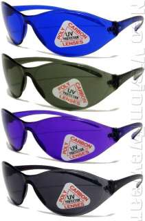 Lot of 12 Kids Sports Wrap Sunglasses Color Lens 028