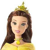 Disney Princess Shimmer Princess Belle Doll   Mattel