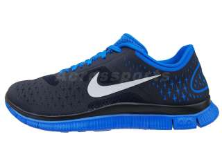 Nike Free 4.0 V2 Dark Obsidian Blue Mens Running Shoes 511472 404