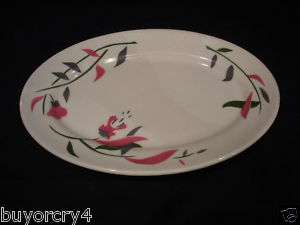 STERLING VITRIFIED CHINA PLATTER EAST LIVERPOOL,OH USA