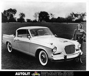 1956 Studebaker Golden Hawk Factory Photo
