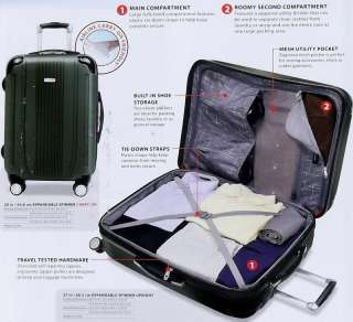 New Ricardo 2 Piece Luggage Set 20 & 27 Rolling Hard side Suitcases