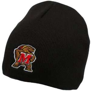 Maryland Terrapins Black Easy Does It Knit Beanie