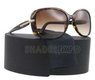 NEW Prada Sunglasses SPR 08O HAVANA 2AU 6S1 SPR08O AUTH
