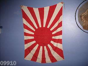 ERA JAPANESE ARMY MILITARY 16 RAY RISING SUN FLAG antique navy