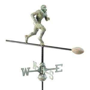 Good Directions 8851V1R Verde Copper Football Player Roof