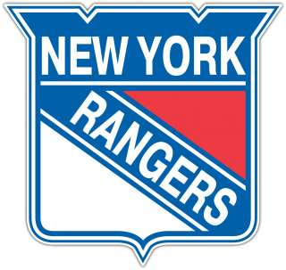 New York Rangers NHL Hockey Car Bumper Notebook Window Sticker Decal 4