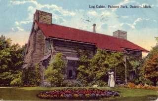 LOG CABIN PALMER PARK DETROIT, MI 1920