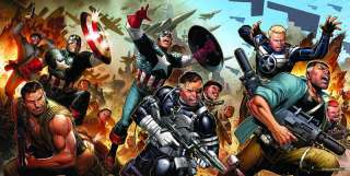 SECRET WARRIORS POSTER by Jimmy Cheung Marvel Comics