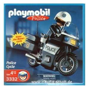 Playmobil Police Cycle (3332): Toys & Games