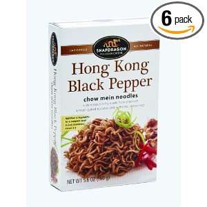 Hong Kong Black Pepper Chow Mein Stir Fry, 5.6 Ounce (Pack of 6