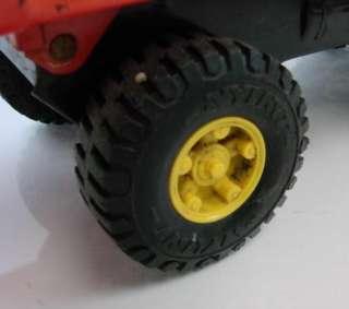 Vtg Orange Nylint Hydraulic Dump Truck Pressed Steel Toy Car Dumptruck