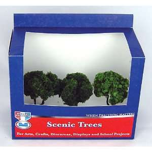Scenic Tree, Summer Deciduous (2), 4 Toys & Games