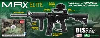 2012 MRX ELITE Semi Auto Paintball Gun Marker   Diamond Black