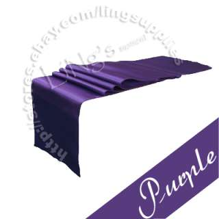 270cm Satin Table Runner Wedding Party Banquet Decoration