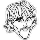 Beatles George Harrison 1964 Car Mascot Bobble Head Doll