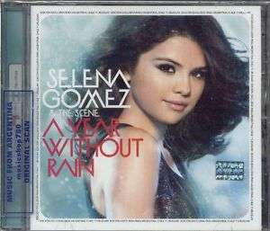 SELENA GOMEZ & THE SCENE, A YEAR WITHOUT RAIN + BONUS TRACK. FACTORY