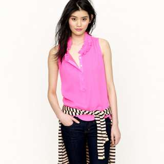 Naomi top   sleeveless   Womens shirts & tops   J.Crew